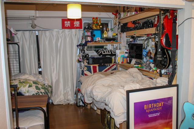 賑やかな上原さんの部屋
