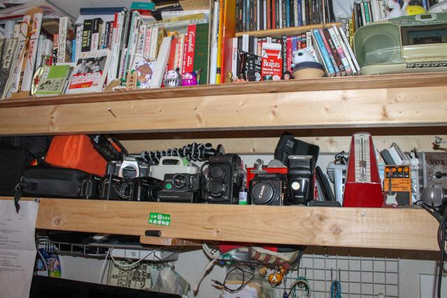上原さん所有のカメラ