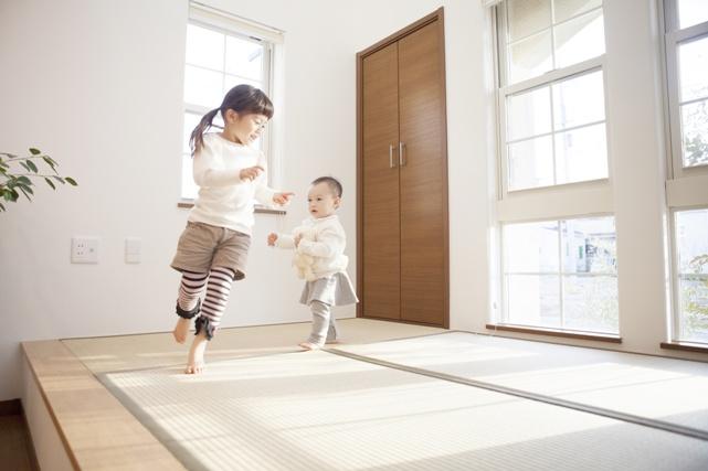 防音効果だけでなく、転んだ時の衝撃防止にも役立つ