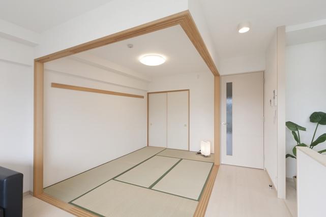 広々使える和室空間