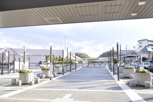 唐木田駅からの景色