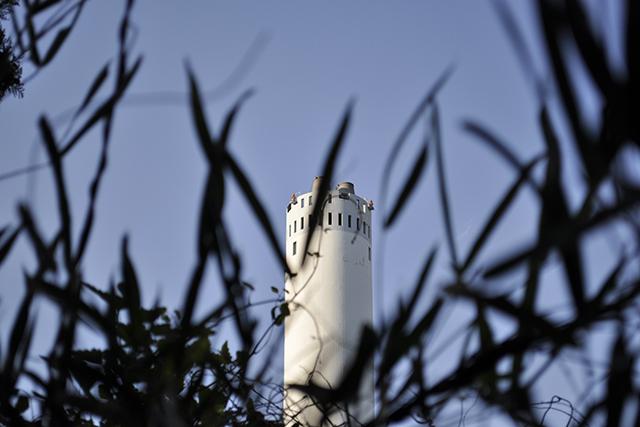 唐木田の煙突