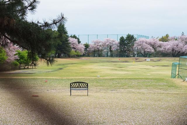 中央林間のゴルフ場