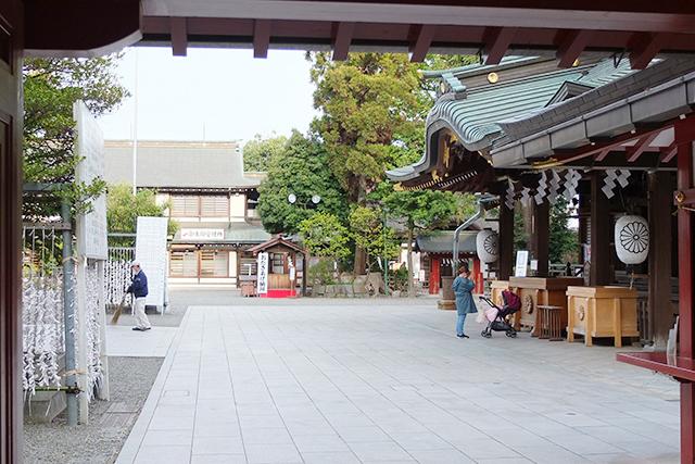 大黒魂神社の入り口
