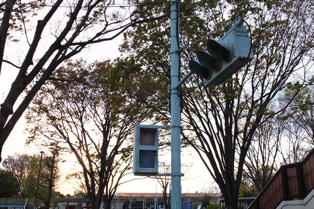 交通遊園の信号