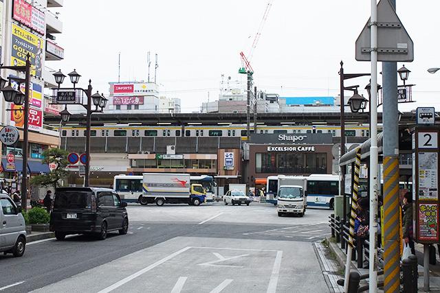 本八幡駅の外観