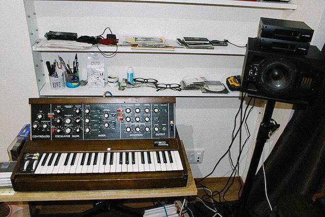 昔の電子楽器
