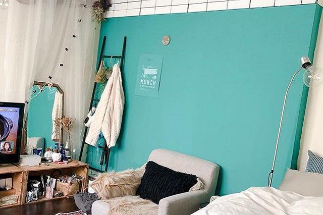 一人暮らし中の徳満さんの以前の部屋の様子
