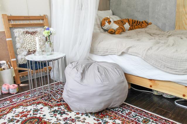 一人暮らし中の徳満さんの部屋