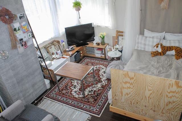 一人暮らし女子の部屋作り事例:徳満梨紗さんがDIYでつくったお部屋
