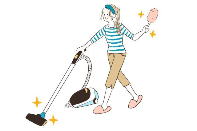 掃除のルーティン化を目指す