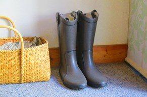おしゃれな長靴で梅雨も快適