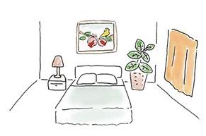子宝運を上げる鍵は寝室にあり