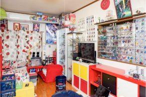 じだむさんのガンダムコレクションでまとめたオタク部屋