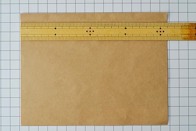 サコッシュを作る時に使う厚紙