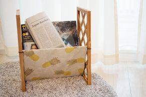コンパクトなマガジンラックをDIYして雑誌をすっきり片付けよう