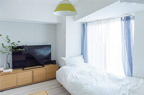 シンプルな暮らしの部屋