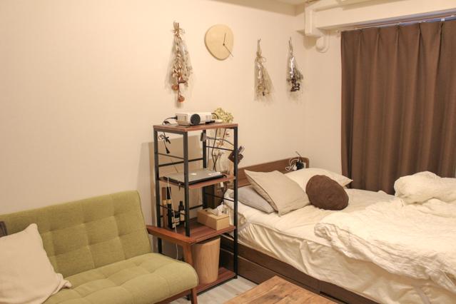 何を残すかから考え、シンプルに整理されたシンプリスト・エヌケンさんのお部屋