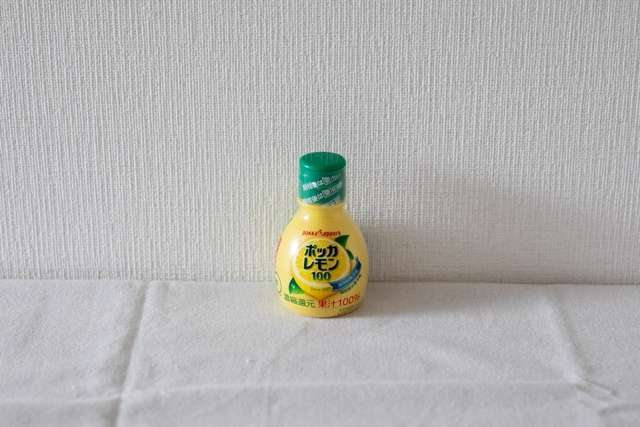 コンビニで買える!筋肉痛に効果が期待できるコンビニ商品 ポッカレモン