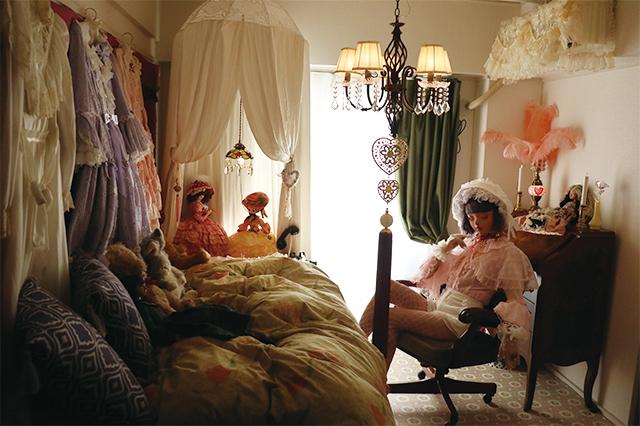 millnaさんとデコラティブな一人暮らしのお部屋