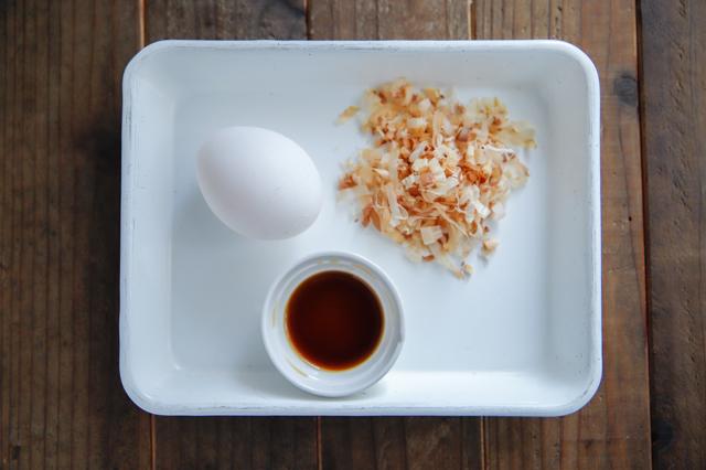 簡単!ごちそうおにぎりのレシピ_卵黄の醤油漬けおにぎりの具材