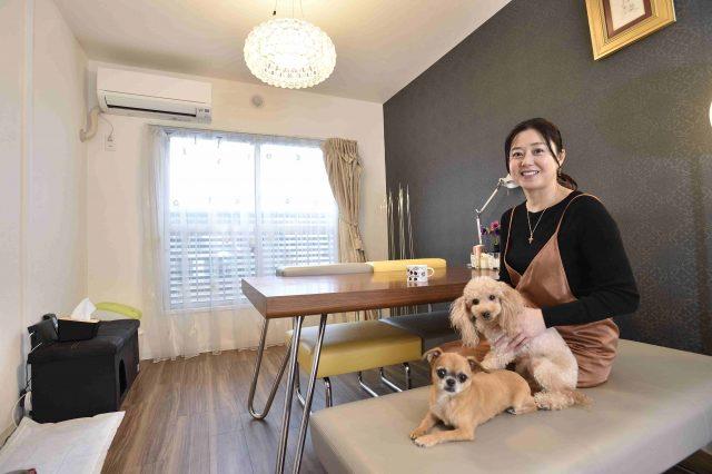 ペット可賃貸物件で一人暮らし中のFさんと2頭の愛犬