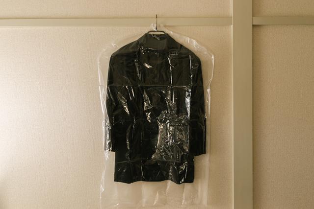ダイソーの衣類カバー