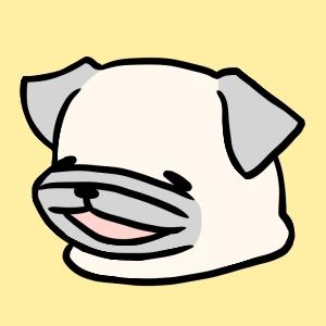 パグ犬・めー
