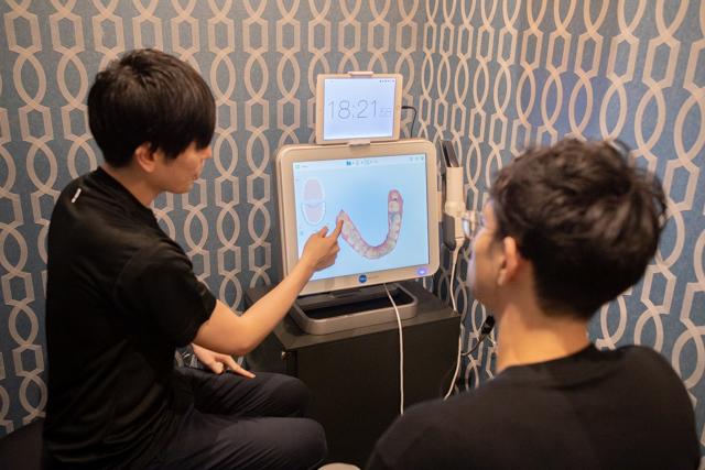 【自宅でできるオンライン歯科矯正】歯のスキャンデータ