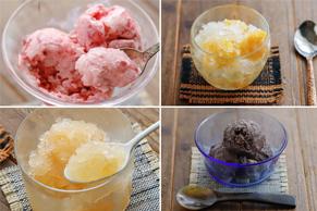 【簡単アイス】コンビニ食材を袋に入れて揉むだけの「手作りグラニテ」レシピ4選