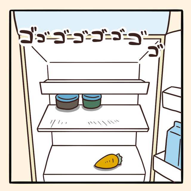 毎日でぶどり連載_でぶどりの暮らし第5回「冷蔵庫に潜む謎タッパー」:でぶどりの冷蔵庫の中