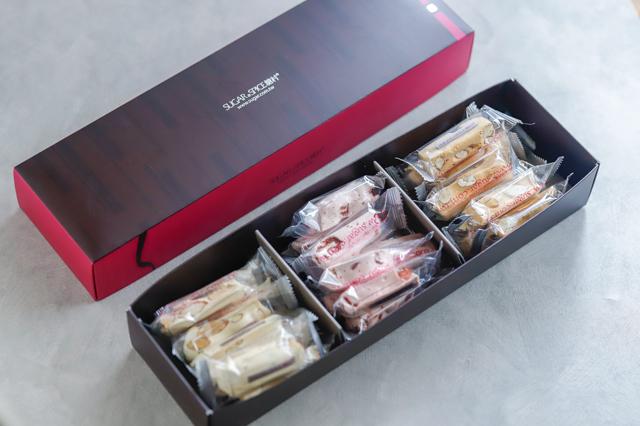 さっしー激推し台湾スイーツを買ってみた!お取り寄せできる台湾行列お菓子3選を食べ比べ 指原莉乃おすすめ ネットで買える レビュー 感想 「糖村」の牛軋糖(台湾ヌガー)