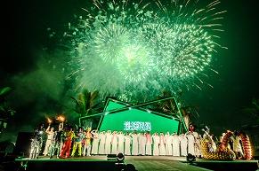 STAR ISLAND海外公演第二弾サウジアラビアでも大成功! 建国の日に約30万人を魅了