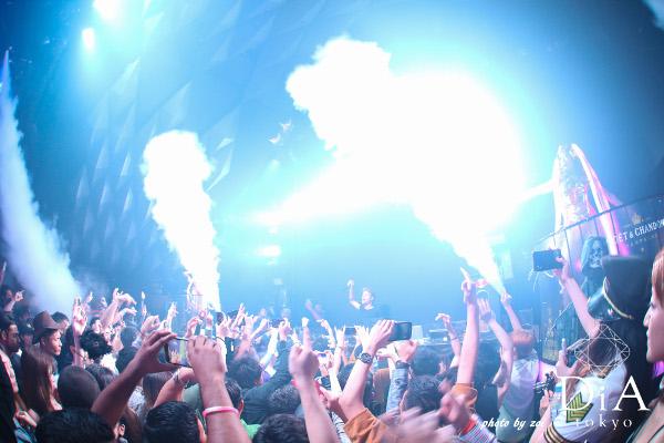 10月24日(水)〜31日(水)にかけて六本木DiA Tokyoで開催されたスペシャルパーティー「HALLOWEEN CIRCUS」