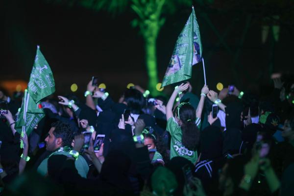 サウジで最大の国民的行事の1つである建国記念日9月23日に、サルマン・ビン・アブドゥルアズィーズ国王の王宮の目の前で開催された「STAR ISLAND SAUDI ARABIA NATIONAL DAY EDITION」