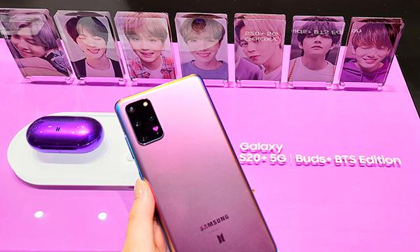 世界的人気アーティストBTS(防弾少年団)とモバイル製品のリーディングカンパニーGalaxyとのコラボモデル「Galaxy S20+ 5G BTS Edition」