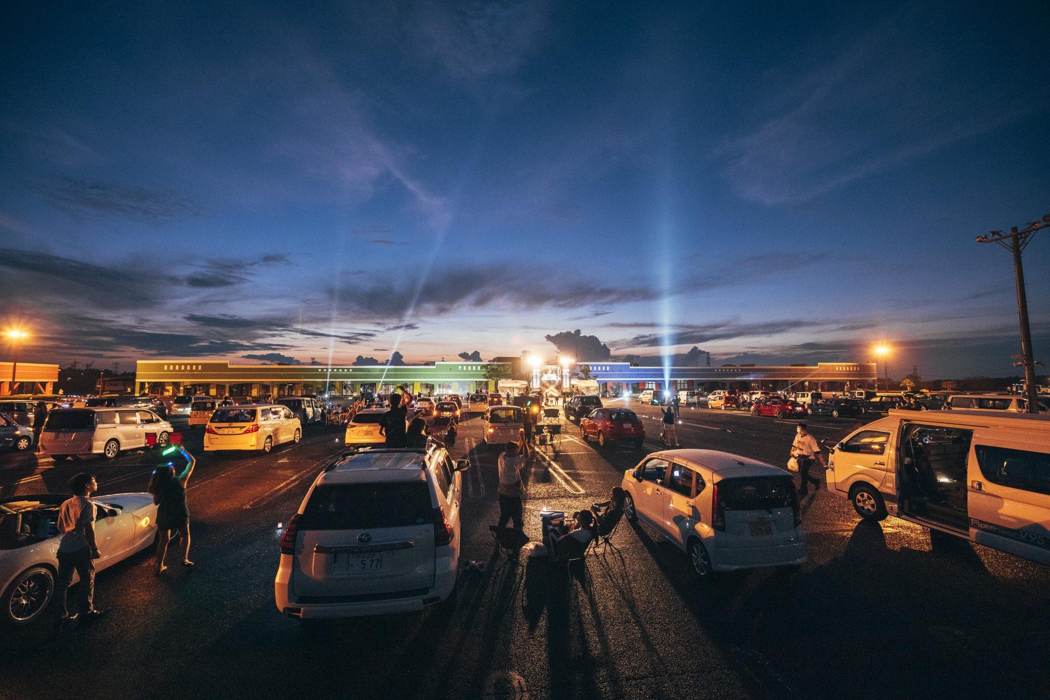 2020年8月22(土)、23日(日)に開催された「ドライブインフェス」の様子③