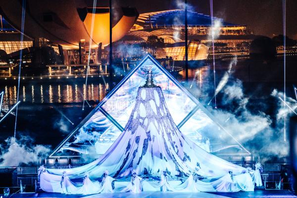 シンガポールThe Float @ Marina Bayで開催された「STAR ISLAND SINGAPORE COUNTDOWN EDITION 2019-2020」の様子⑬