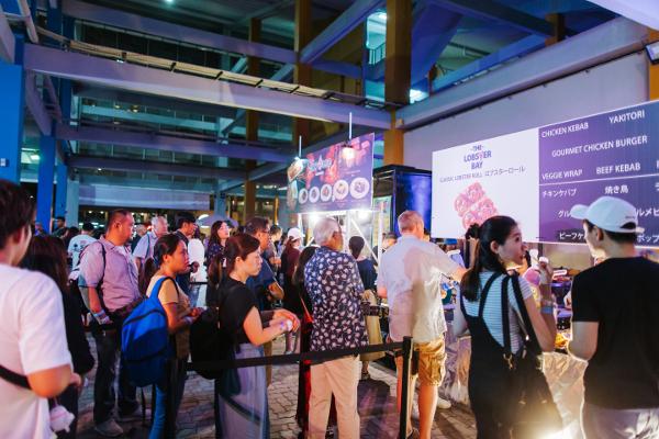 シンガポールThe Float @ Marina Bayで開催された「STAR ISLAND SINGAPORE COUNTDOWN EDITION 2019-2020」の様子⑱