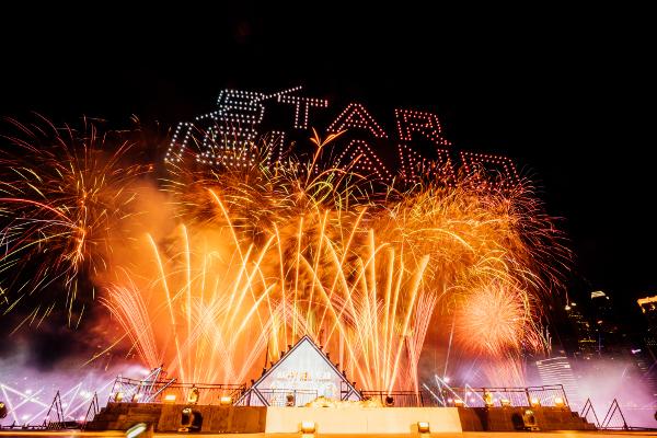 シンガポールThe Float @ Marina Bayで開催された「STAR ISLAND SINGAPORE COUNTDOWN EDITION 2019-2020」の様子㉑