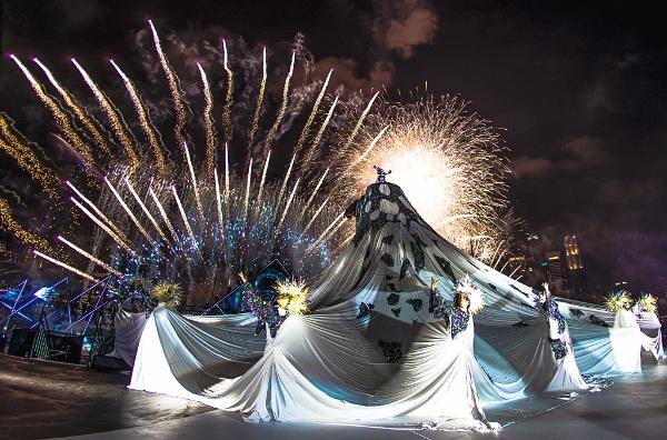 シンガポールThe Float @ Marina Bayで開催された「STAR ISLAND SINGAPORE COUNTDOWN EDITION 2019-2020」の様子③