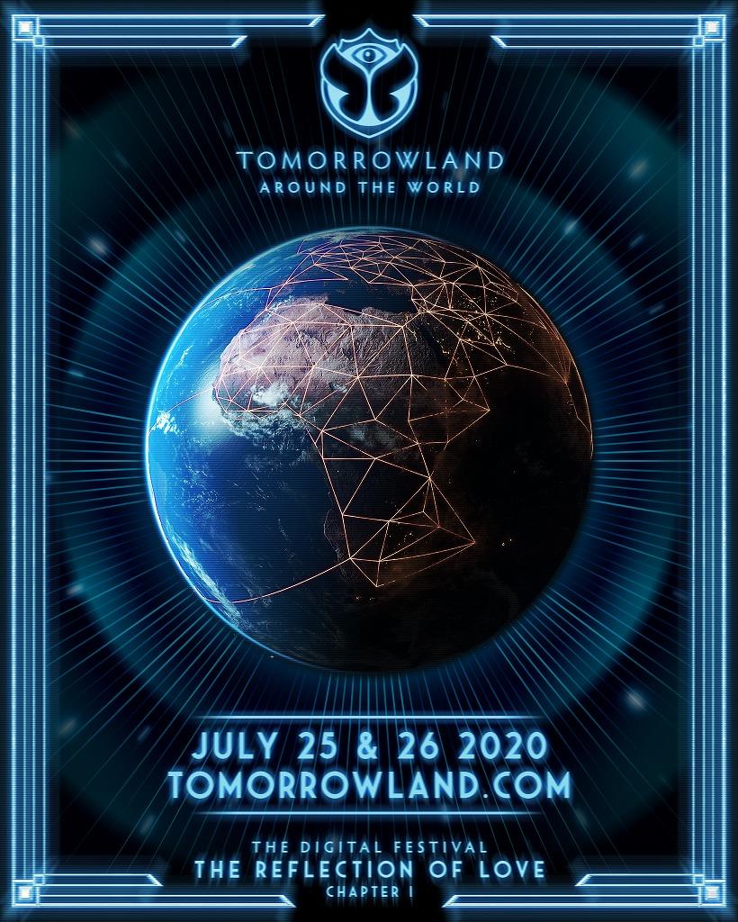 「Tomorrowland Around The World, the digital festival」は2020年7月25日(土)、26日(日)に開催