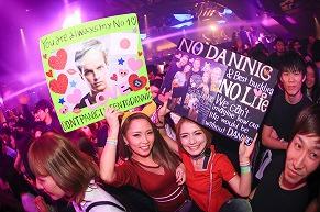 【PARTY SNAP】DANNIC@DiA tokyoに遊びに来ていたパーティーガール(1)