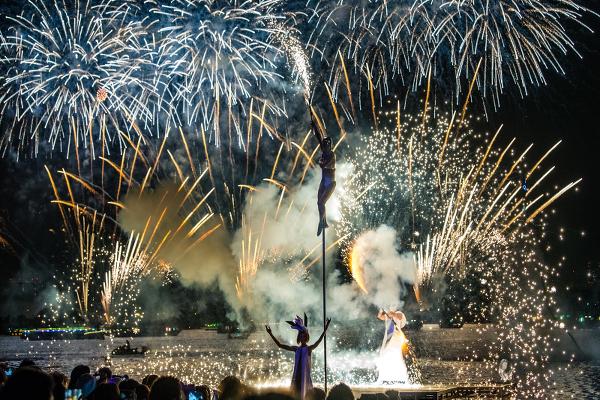 花火と音楽の融合、「STAR ISLANDA(スターアイランド)」のミュージック花火