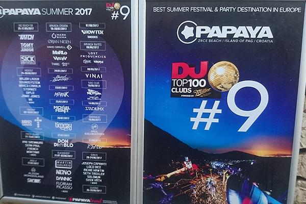 トップアーティストが勢揃いするクラブ「PAPAYA (パパイヤ) 」