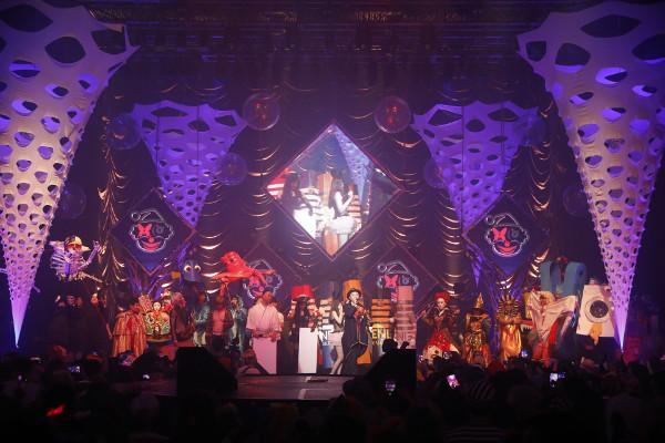 「ageHalloween17」では優勝賞金50万円をかけた大仮装大会が開催された