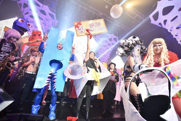 今回の仮装に20万円もかけ、「ageHalloween17」の大仮装コンテストで優勝した「ランドリーモンスター」