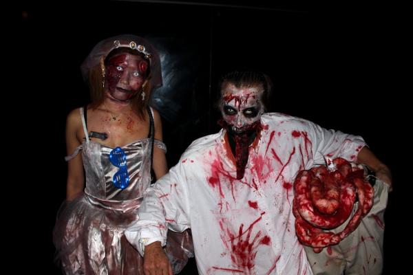 今年も大きな盛り上がりを見せた「ageHalloween17」に集まった仮装したハロウィンラバーたち-1