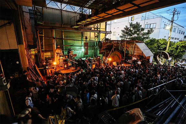 """鉄工所でライブ!? """"工場 x アーティスト""""がテーマのサーキットイベント開催"""