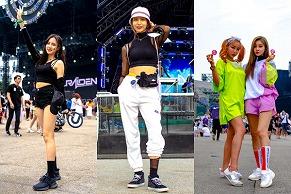 この夏のフェスファッションの参考に…ULTRA KOREA 2019スナップ